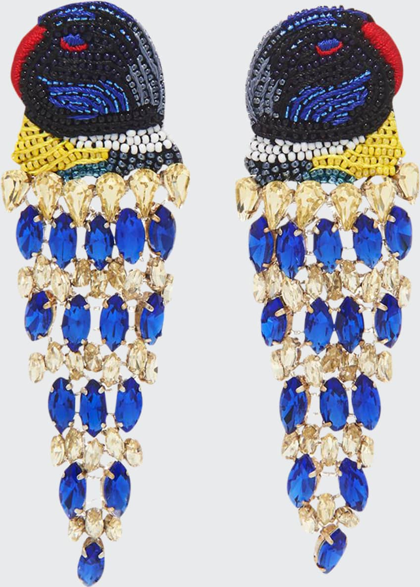 Mignonne Gavigan Parrot Lux Earrings