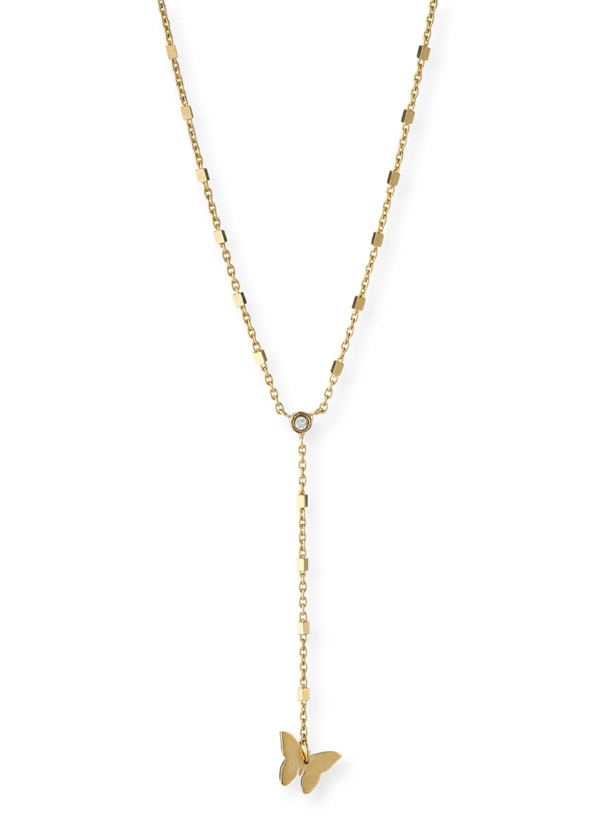 Jennifer Zeuner Bailey Lariat Necklace