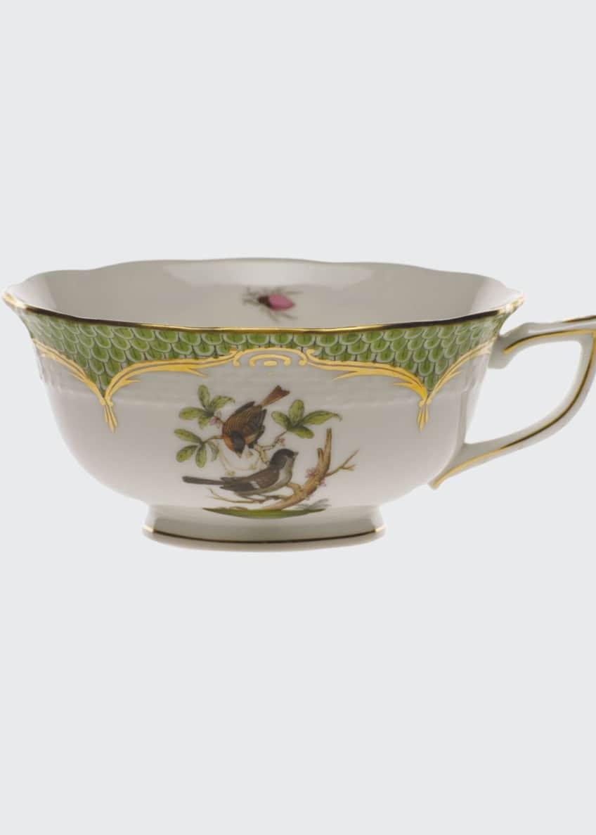 Herend Rothschild Bird Green Motif 04 Tea Cup