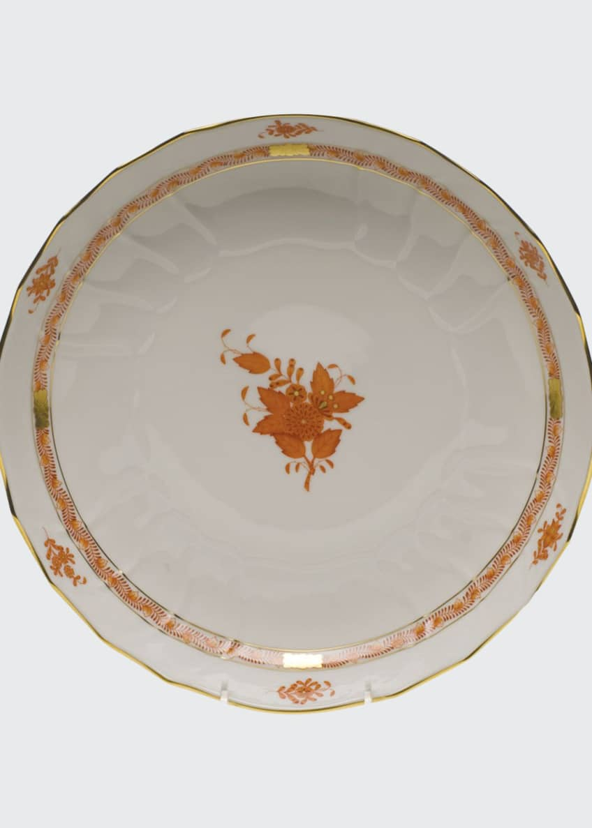 Herend Chinese Boutique Rust Open Vegetable Bowl