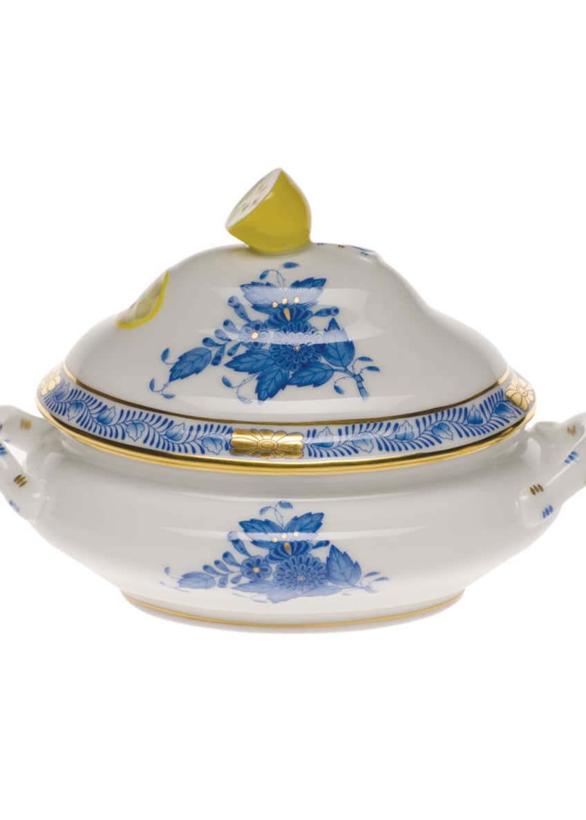 Herend Chinese Bouquet Blue Mini Tureen