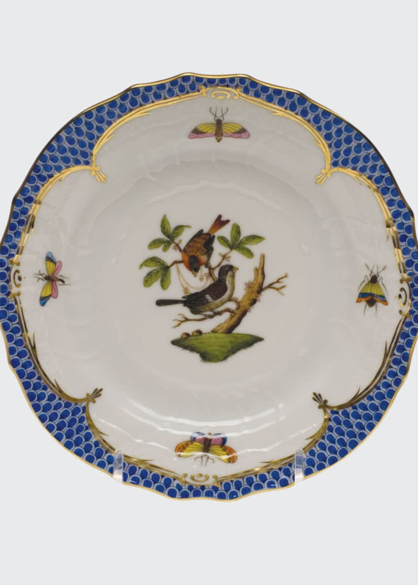 Image 1 of 1: Rothschild Blue Motif 04 Bread & Butter Plate