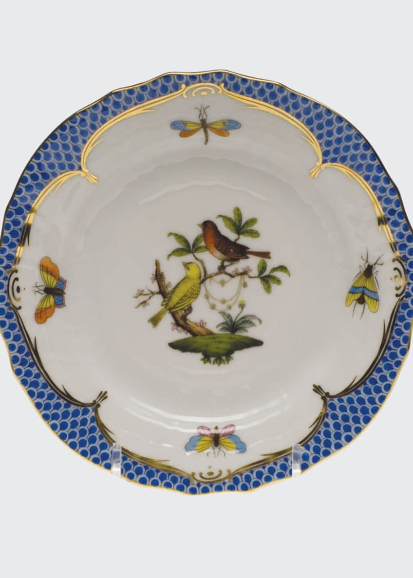 Rothschild Blue Motif 06 Bread & Butter Plate