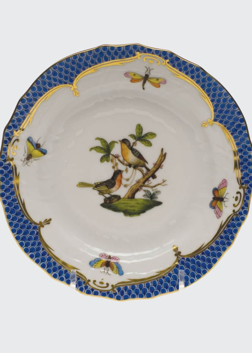 Image 1 of 1: Rothschild Blue Motif 08 Bread & Butter Plate
