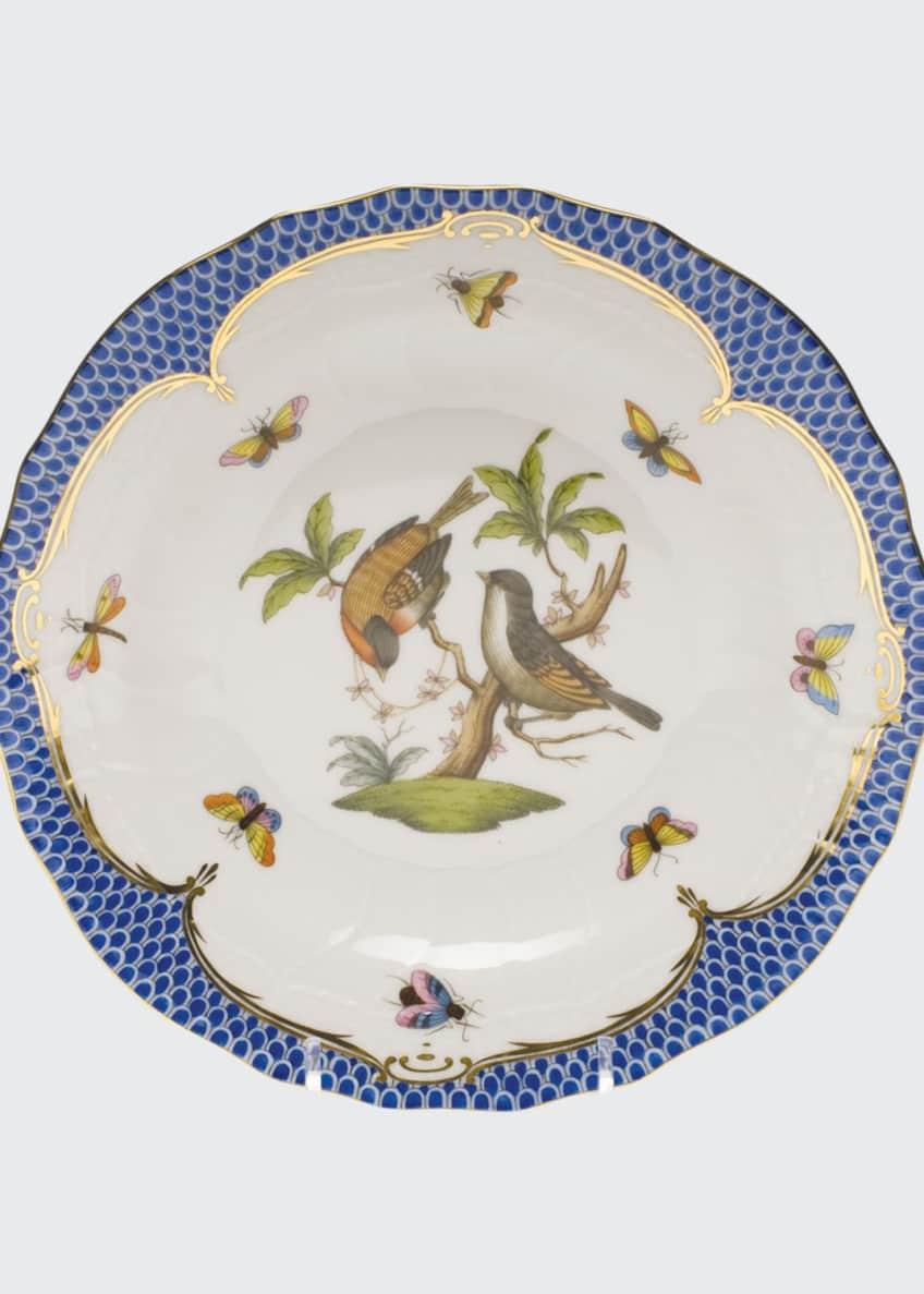 Herend Rothschild Blue Motif 12 Dessert Plate