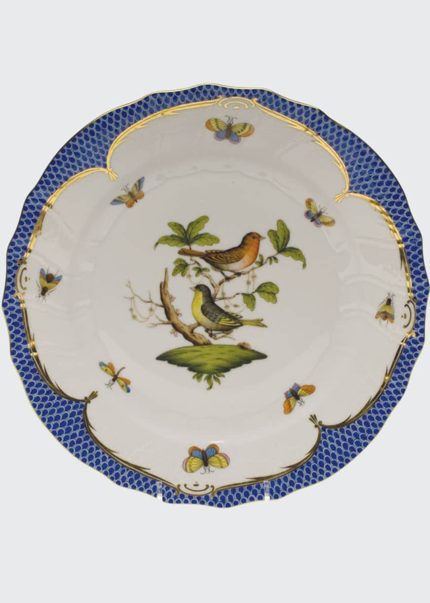 Rothschild Blue Motif 03 Dinner Plate