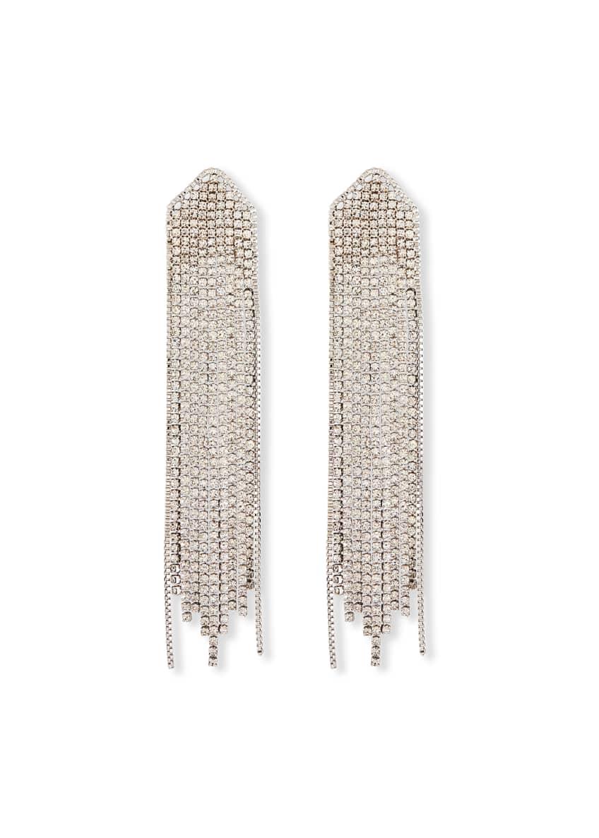 Fallon Feathered Waterfall Earrings