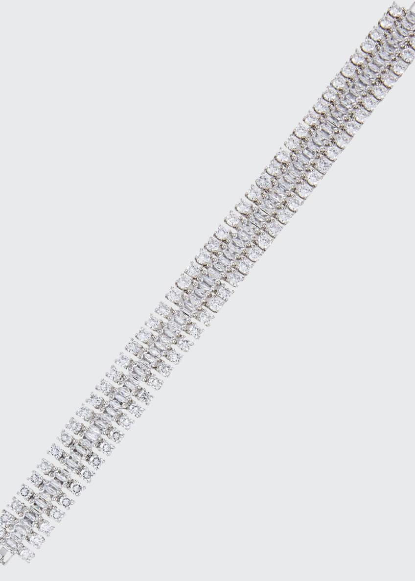 Fallon Double Diamante Bracelet