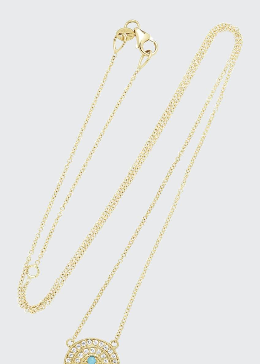 Andrea Fohrman 18k Mini Rainbow Necklace