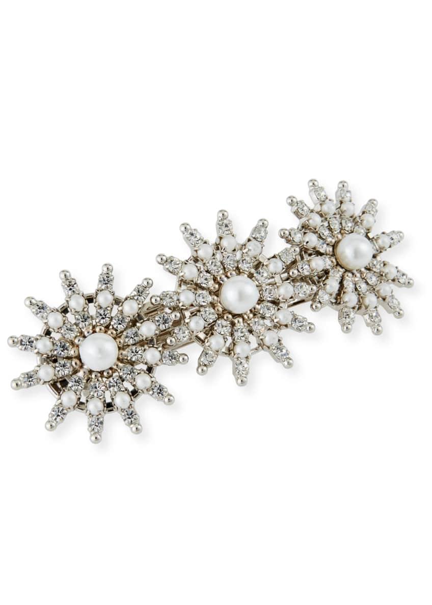 Auden Pearly Crystal-Spike Hair Clip