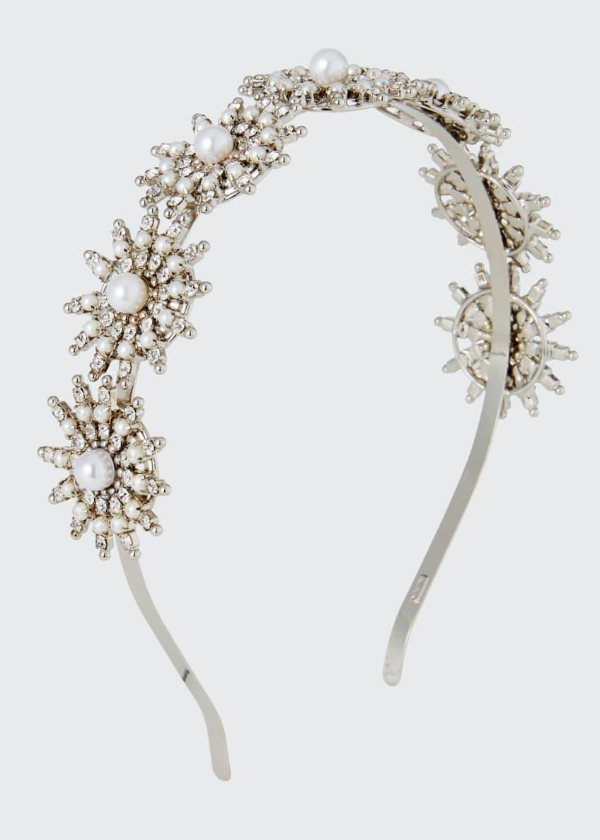 Auden Pearly Crystal-Spike Headband