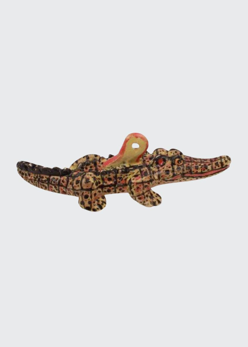 Image 1 of 1: Crocodile Ornament