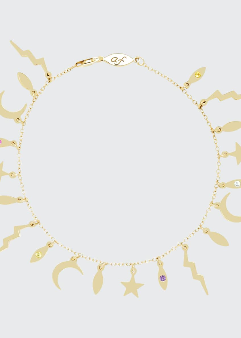 Andrea Fohrman 14k Multi-Element Bracelet