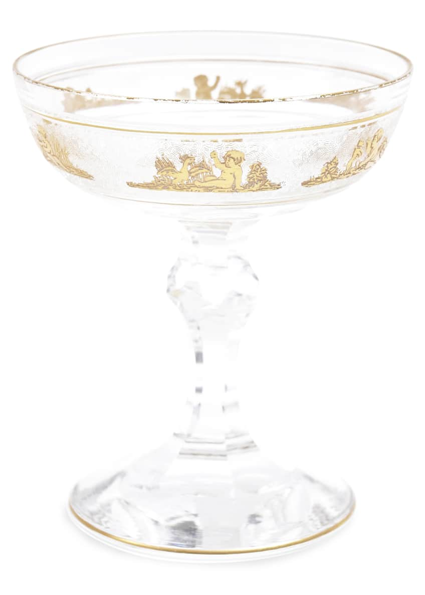 Image 2 of 5: Champagne Coupes, Set of 8