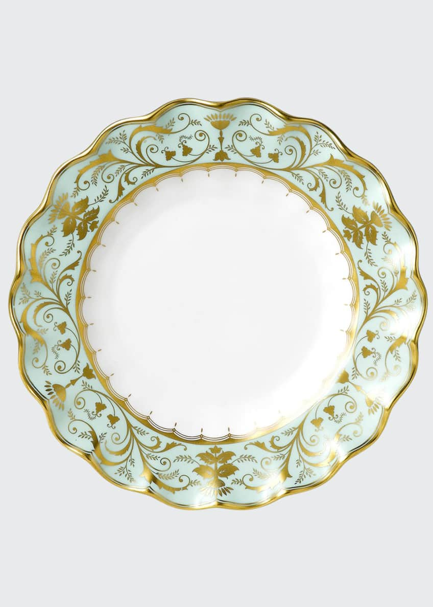 Image 1 of 1: Darley Abbey Fluted Dessert Plate
