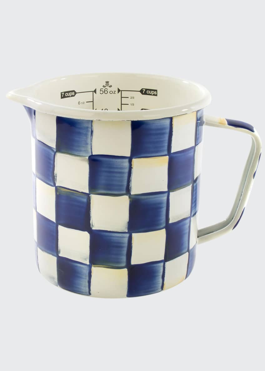 Image 1 of 1: Royal Check 7 Cup Measuring Cup