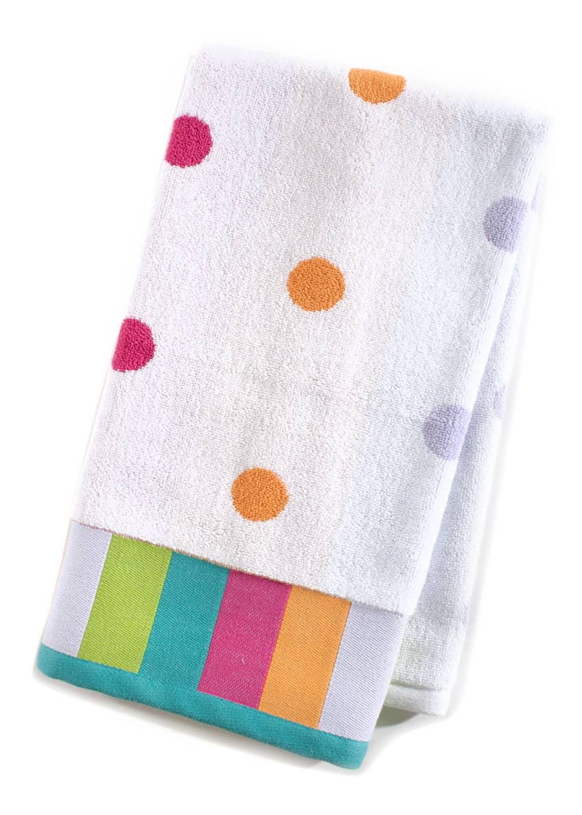 Image 1 of 1: Trampoline Dot Hand Towel