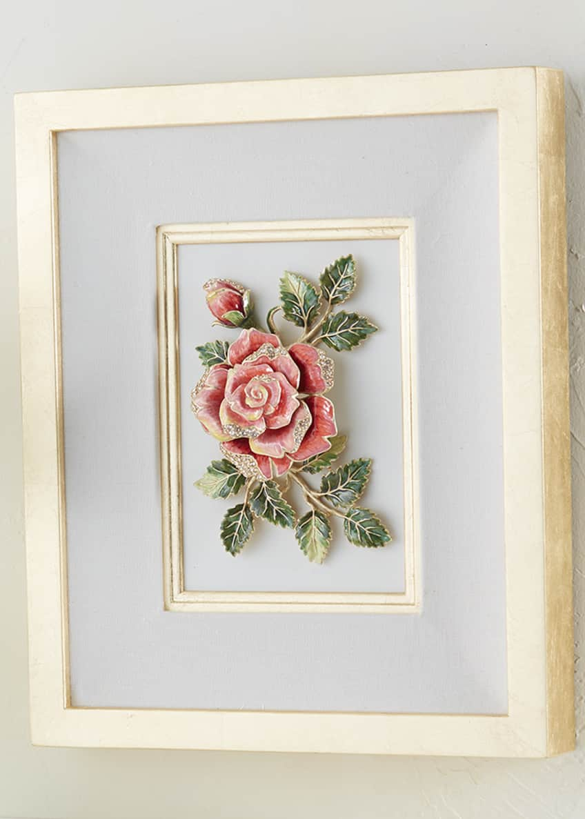 Image 3 of 3: Rose Wall Art