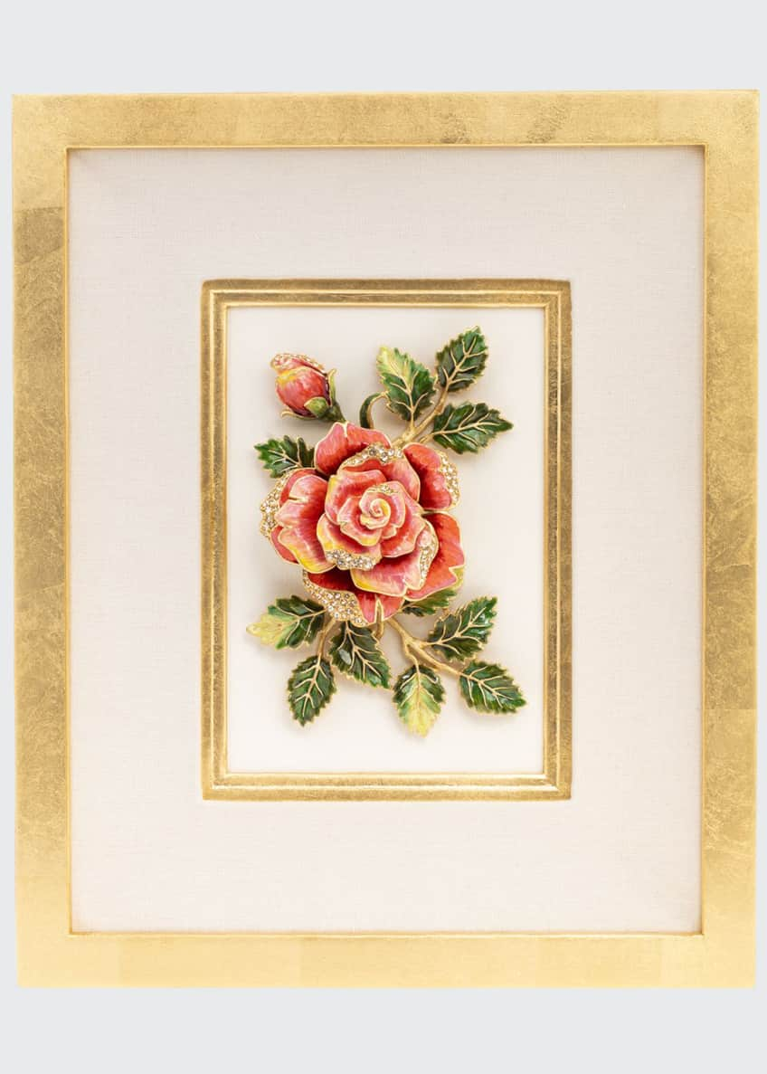 Image 1 of 3: Rose Wall Art