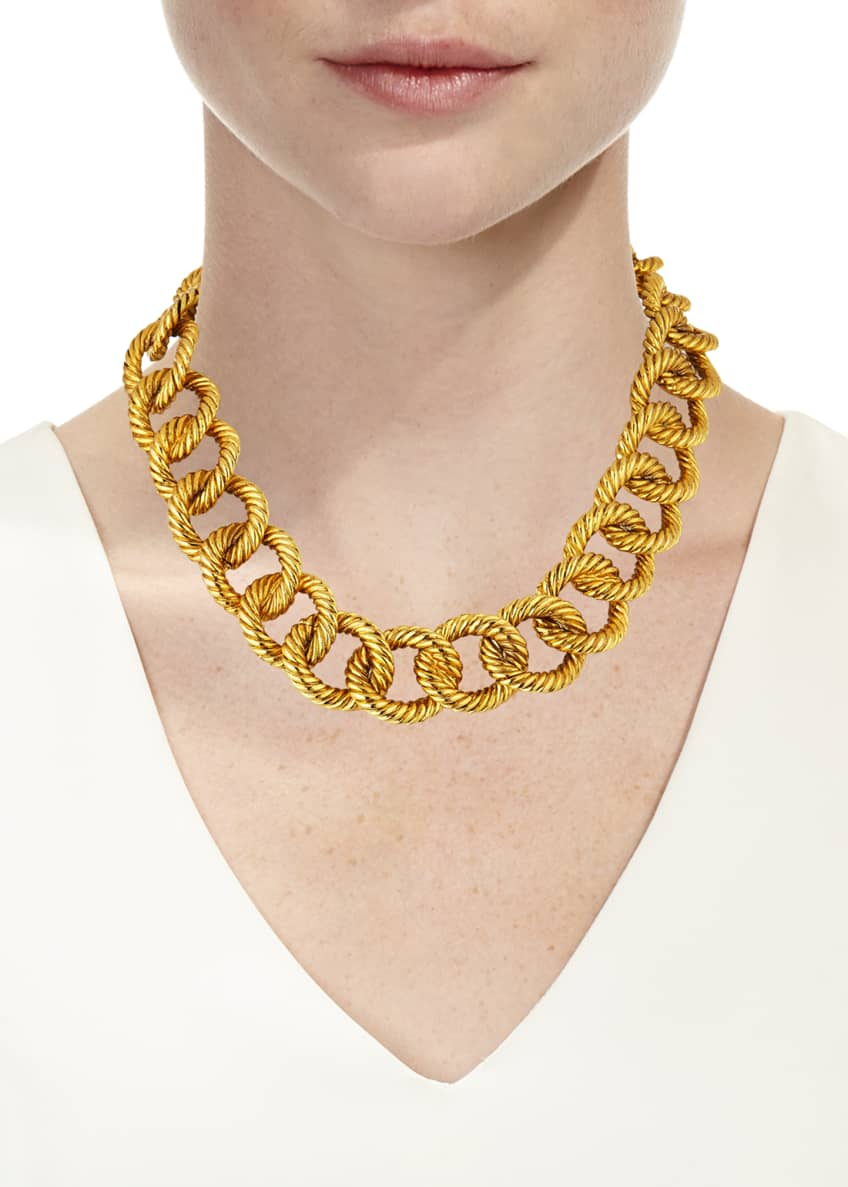 Image 2 of 2: Brenna Chain-Link Necklace