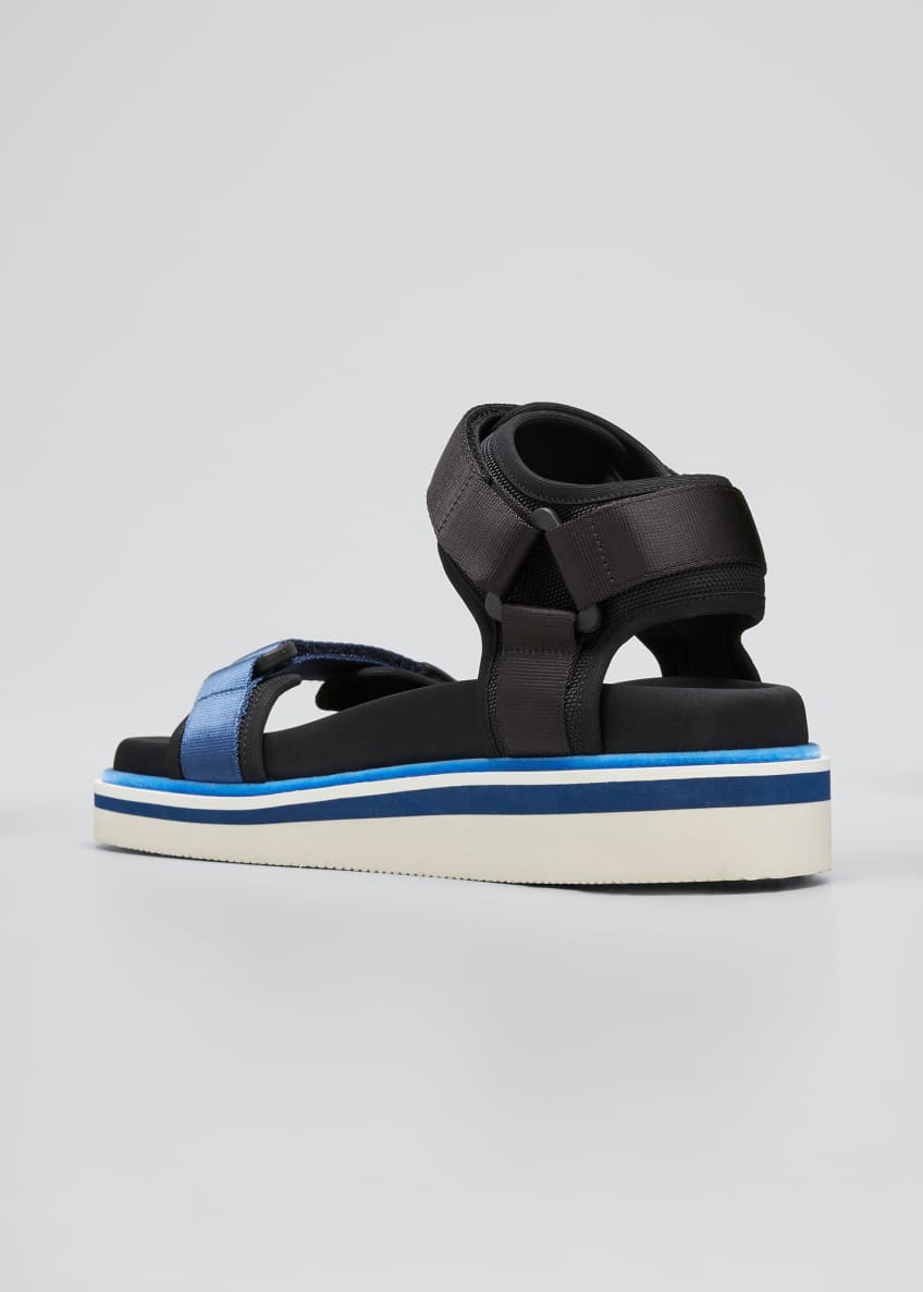 Image 2 of 3: Ankle-Strap Sport Sandals
