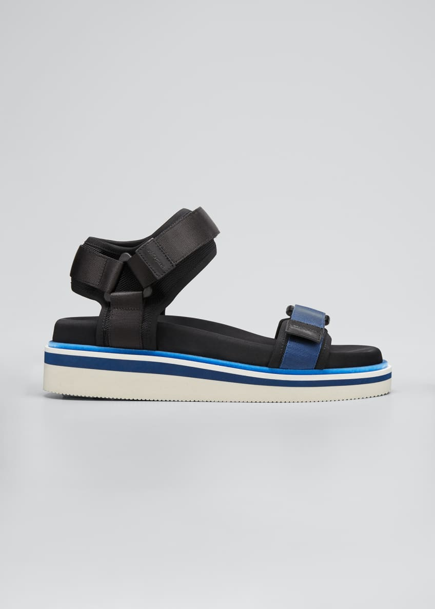 Image 1 of 3: Ankle-Strap Sport Sandals