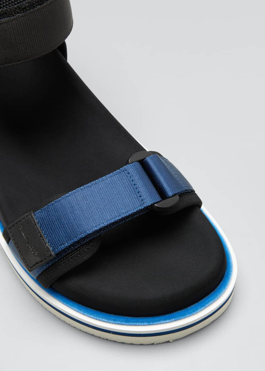 Image 3 of 3: Ankle-Strap Sport Sandals