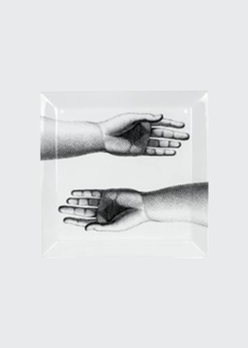 Image 1 of 1: Square tray Mani Hands