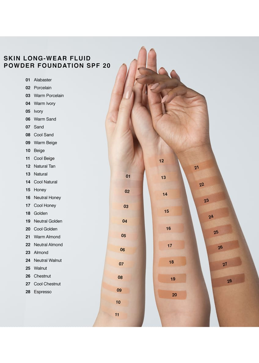 Image 4 of 5: Skin Long-Wear Fluid Powder Foundation SPF 20