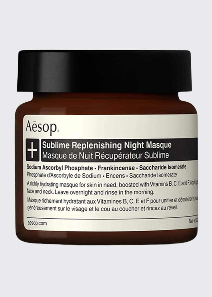 Aesop Sublime Replenishing Night Masque, 2 oz./ 60 mL - Bergdorf Goodman