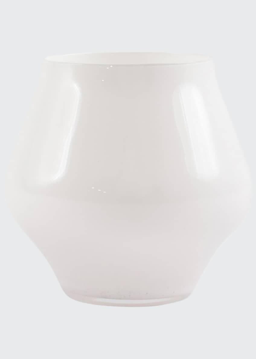 Image 1 of 1: Contessa White Stemless Wine Glass