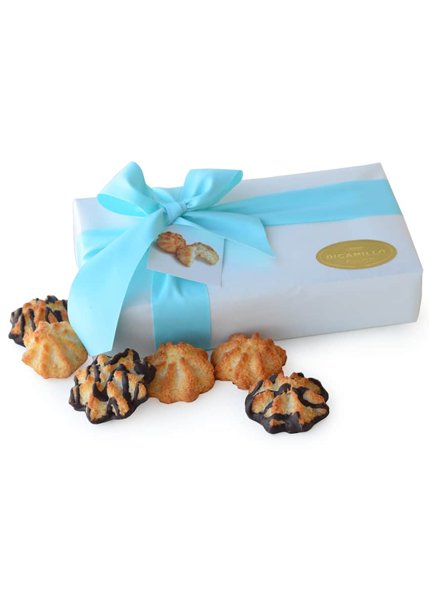 Image 1 of 1: Chocolate Drizzled Coconut Macaroons