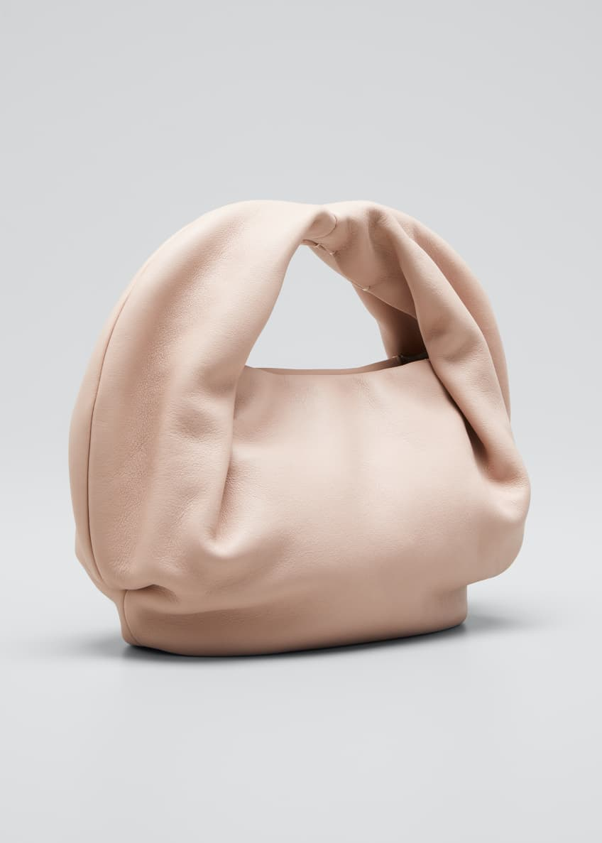 Image 3 of 5: Lola Soft Folded Top-Handle Bag
