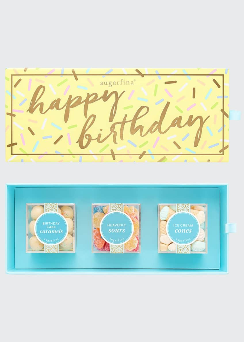 Image 1 of 3: Happy Birthday 3-Piece Bento Box