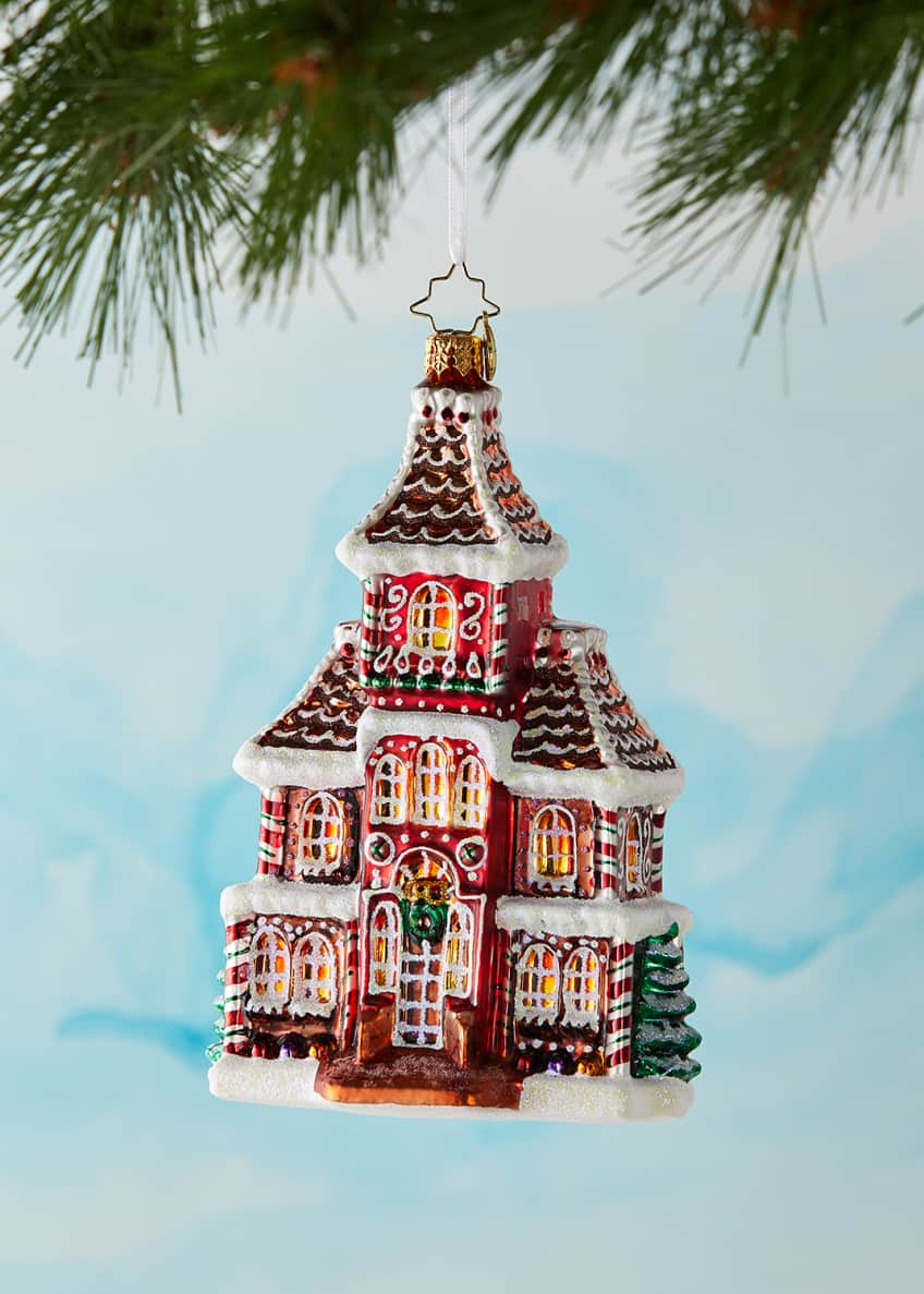 Image 1 of 2: Grandeur In Ginger Christmas Ornament