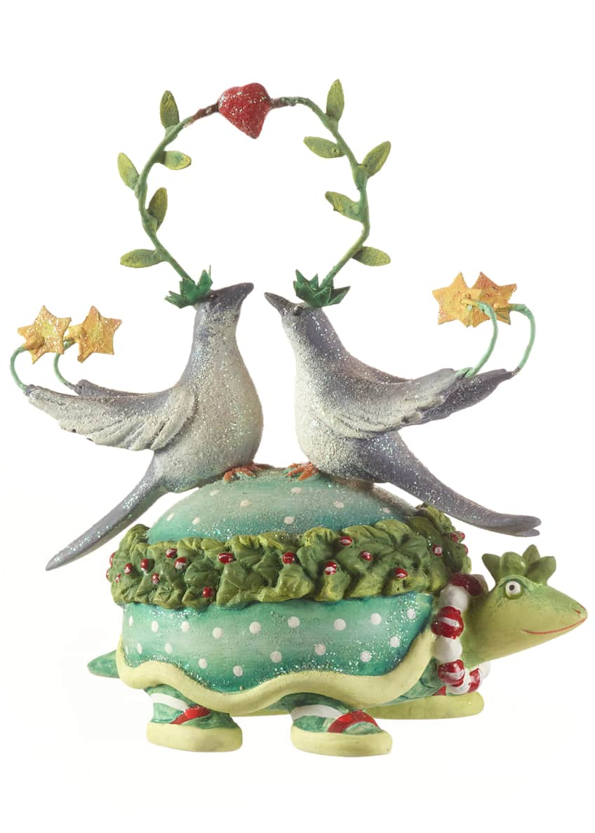 Image 1 of 2: 2 Turtle Doves Ornament