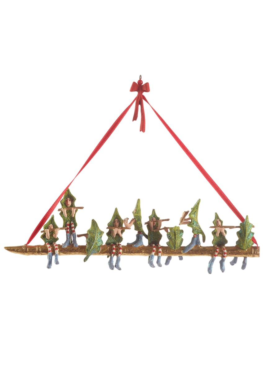 Image 1 of 2: 10 Pipers Piping Ornament