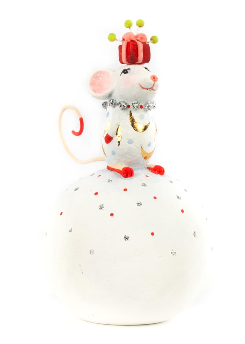 Image 1 of 1: Dash Away Nelly Mouse Figurine