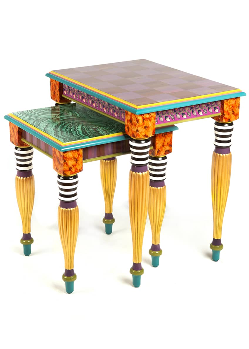 Image 2 of 2: Paradise Nesting Tables, Set of 2