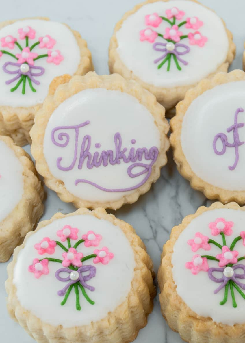 Image 3 of 3: Thinking of You Shortbread Tin