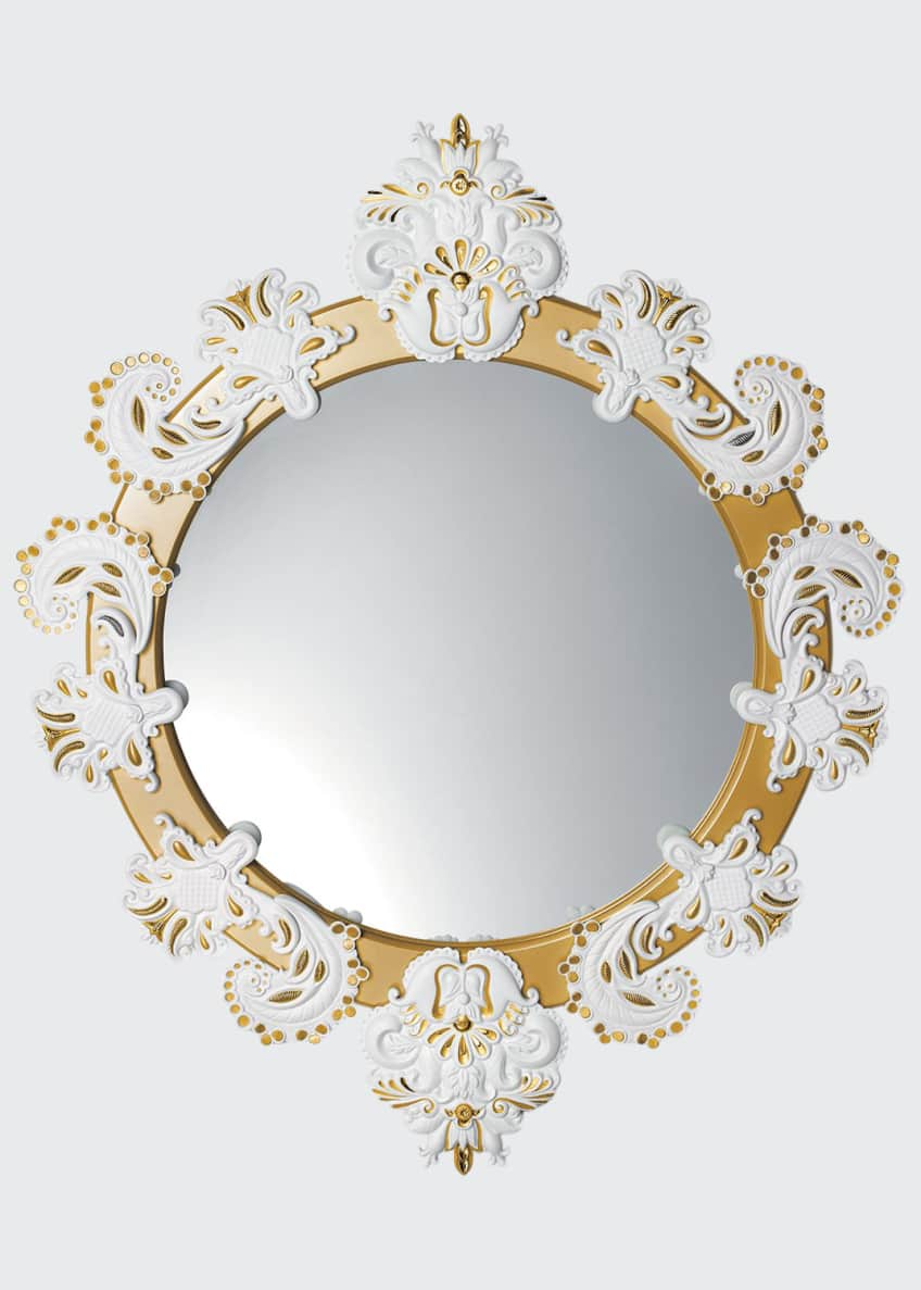 Image 1 of 1: Round Wall Mirror