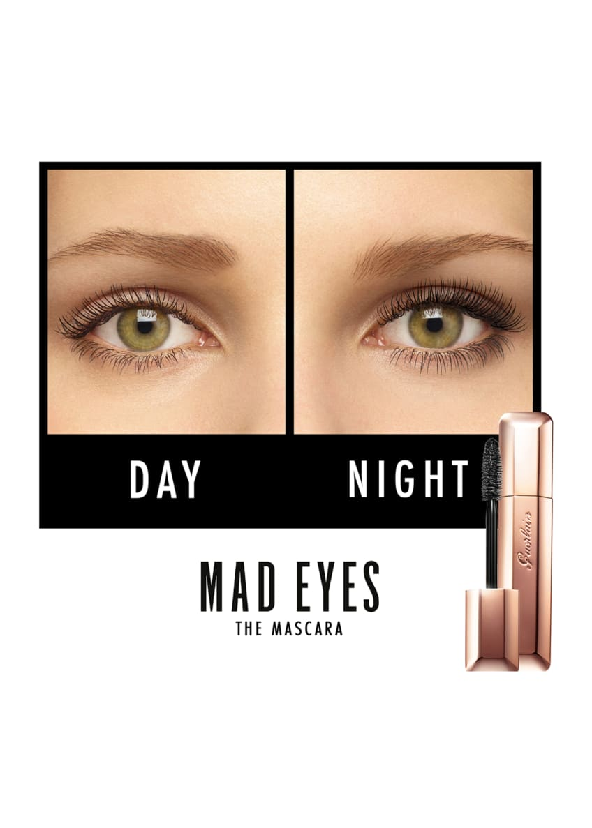 Guerlain Mad Eyes Long-Wearing & Volumizing Mascara - Bergdorf Goodman
