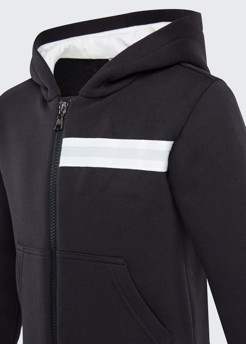 Image 3 of 6: KB Maglia Zip-Up Hooded Cardigan, Size 8-14