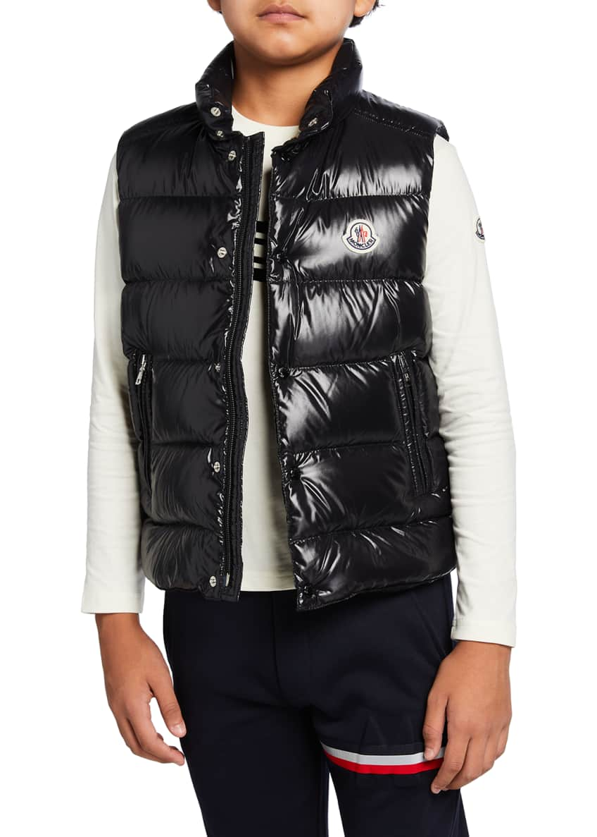 Image 2 of 5: Tib Laque Mini-Me Down Puffer Vest, Size 8-14