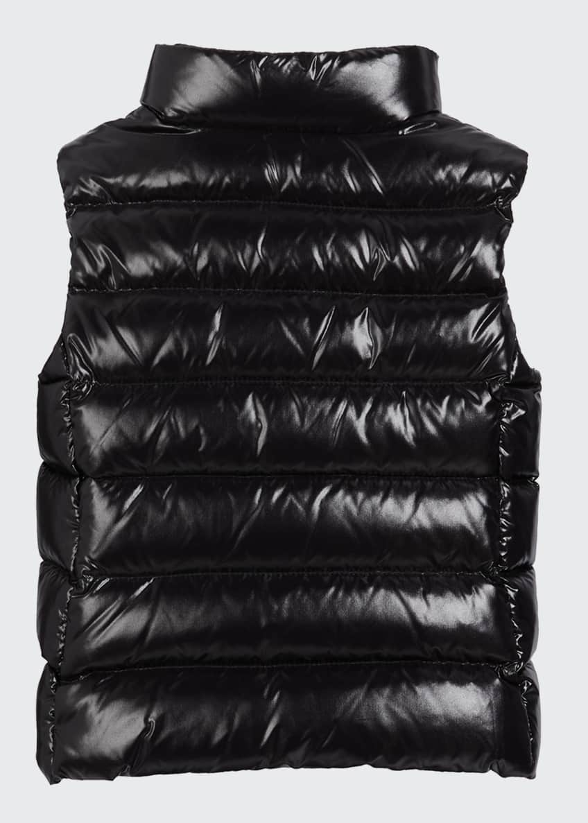 Image 2 of 2: Kid's Ghany Laque Quilted Puffer Vest, Size 4-6