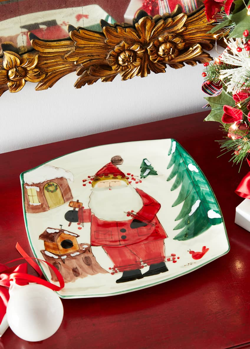 Image 1 of 1: Old St. Nick 2020 Limited Edition Square Platter