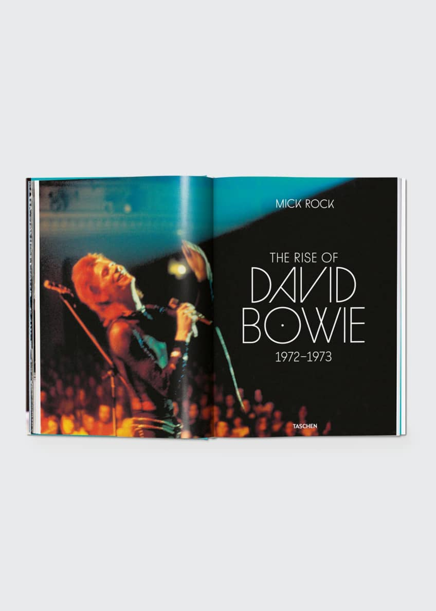 "Image 2 of 3: ""The Rise of David Bowie: 1972-1973"" Book by Mick Rock"