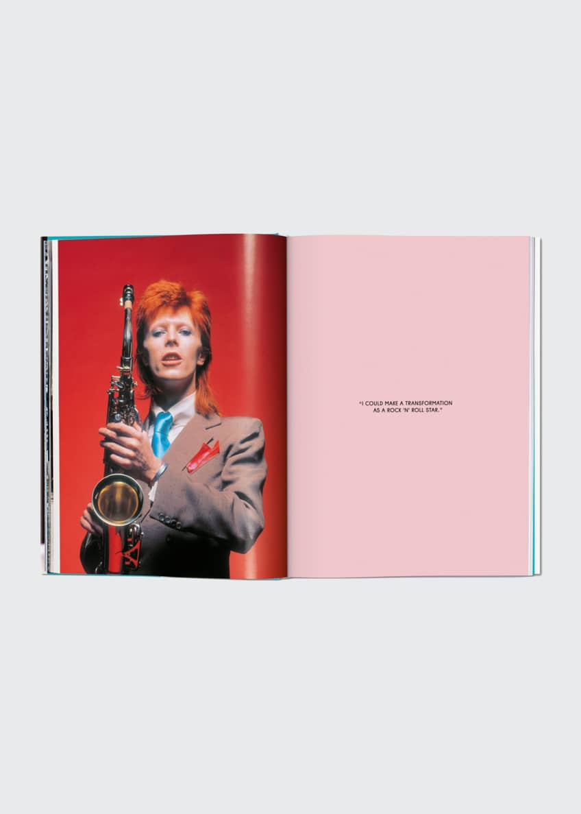 "Image 3 of 3: ""The Rise of David Bowie: 1972-1973"" Book by Mick Rock"