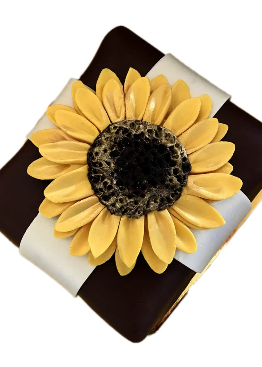 Image 1 of 1: Stunning Sunflower Cheesecake