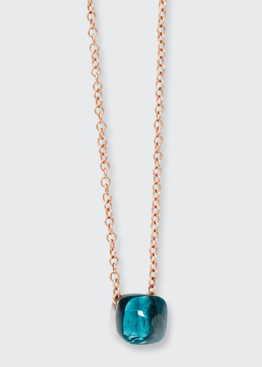 Image 1 of 1: Nudo Petit London Blue Topaz Necklace